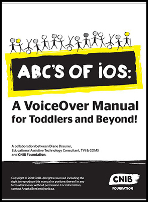 The cover of the ABC's of iOS manual.